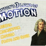 Isaac Newton and The 3 Laws of Motion