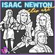 Isaac Newton clip art
