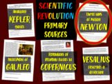 Isaac Newton's Laws of Motion: Scientific Revolution Primary Source w guiding Qs