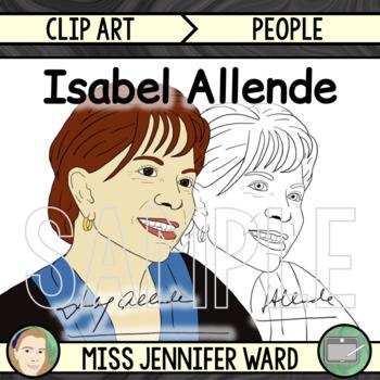 Isabel Allende Clipart