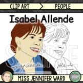 Isabel Allende Clip Art