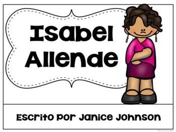 Isabel Allende Readers {Hispanic Heritage Month} Bilingual version