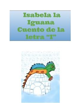 Isabella la Iguana del Iglú. Cuento letra I