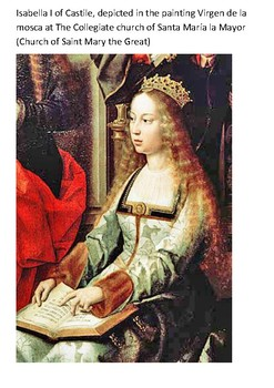 Isabella I of Castile Word Search