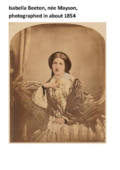 Isabella Mary Beeton Handout