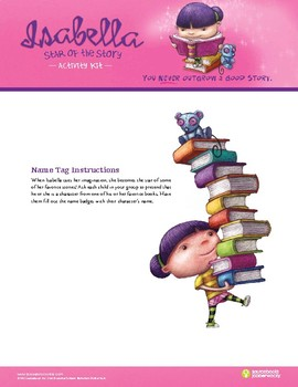 Isabella: Star of the Story Activity Kit