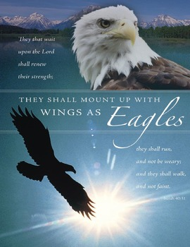 "Isaiah 40:31 ""To Mount Up With Wings as Eagles"" – A Micros"