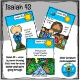 Isaiah 43 Scripture Cards