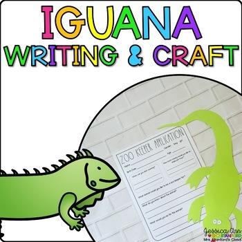 Isaiah the Iguana {Animal Craftivity and Writing Prompts!}