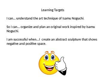 Isamu Noguchi Powerpoint Lesson