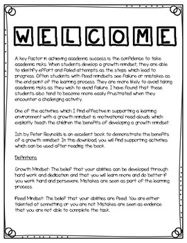 Ish: Growth Mindset Lessons & Activities