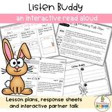Back to School Interactive Read Aloud Listen Buddy