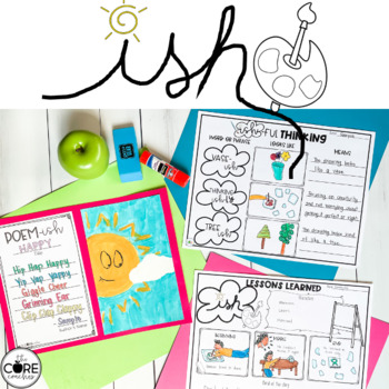 Ish Interactive Read-Aloud Lesson Plans and Activities