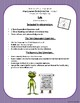 Ish: Text-Dependent Questions and Close Reading Worksheet