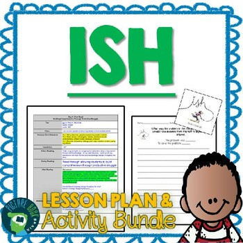 Ish by Peter Reynolds 4-5 Day Lesson Planner