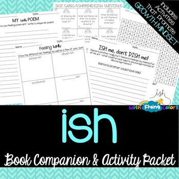 Ish by Peter H. Reynolds Activity Packet
