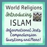Islam World Religions Introduction History Informational Texts Activities