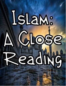 Islam: 5 Pillars of Faith Worksheets