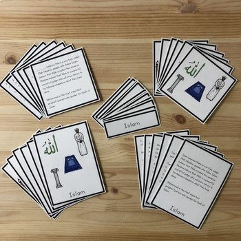 Islam 5 part cards