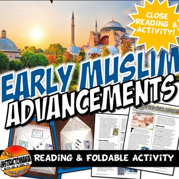 Islam Achievements Close Reading, Worksheet & Folding Activity