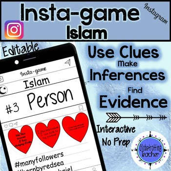 Islam Activity - Instagram (Editable Insta-game)