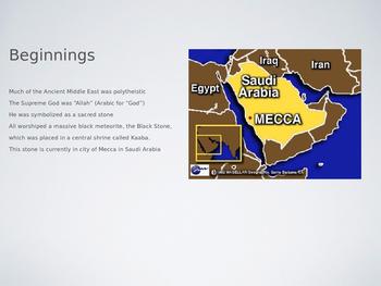 Islam Beginnings and Beliefs Powerpoint