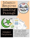 Islam Caliphates Reading Passage Islamic Empires