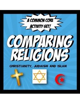 Islam, Christianity and Judaism Activity Set