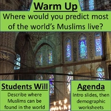 Introduction to Islam - Muslim demographics in the world