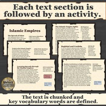 Islam Unit Informational Text Bundle