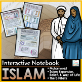Islam Interactive Notebook- Islamic World