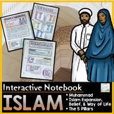 Islam Interactive Notebook- Islamic World