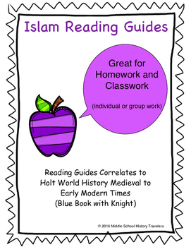 Islam Reading Guides for Holt Textbook