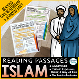 Islam Reading Passages - Questions - Annotations Islamic World