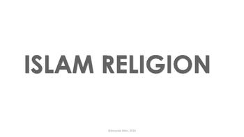 Islam Religion Word Wall Cards