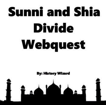 Islam: Sunnis and Shias Webquest