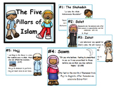 Islam: The 5 Pillars of Islam Classroom Poster Display