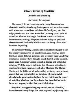 Islam Three Flavors of Muslims
