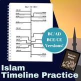 Islam Timeline Practice