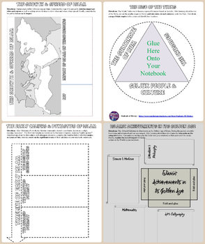Islam and Islamic Civilizations Interactive Notebook