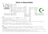 Islam and Stewardship - Environment Crossword