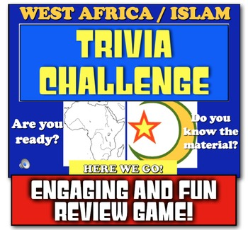 Islam and West Africa Review!  Review Islam and Africa wit