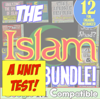 Islam and West Africa Test!  26 questions for Islam & the