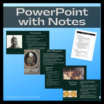 Islam and the Islamic Empires Unit with PowerPoint, Projects, Readings, and More