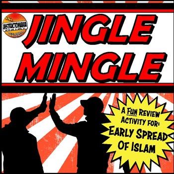 Islam or Arabian Peninsula Jingle Mingle & Fun Class Activity