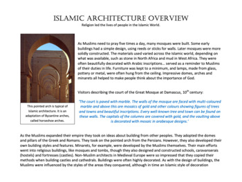 Islamic Architecture Overview
