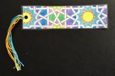 Islamic Art Bookmark Craft