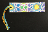 Islamic Art Bookmark Craft