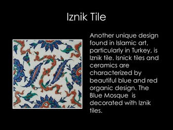 Islamic Art- Elements of Design in Islamic Art PowerPoint