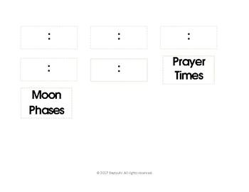 Islamic Calendar Board